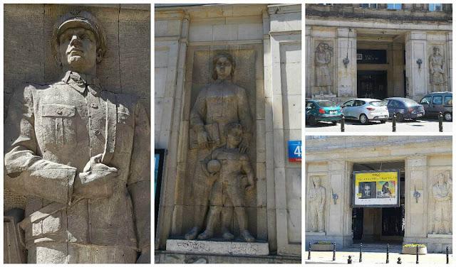 esculturas comunistas de la calle Marszałkowska