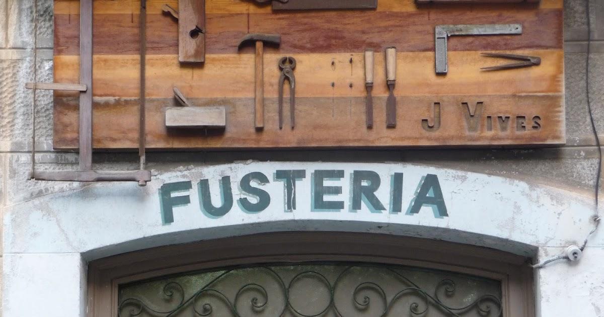 A peu de carrer fotodietari fusteria j vives - Fusteria barcelona ...