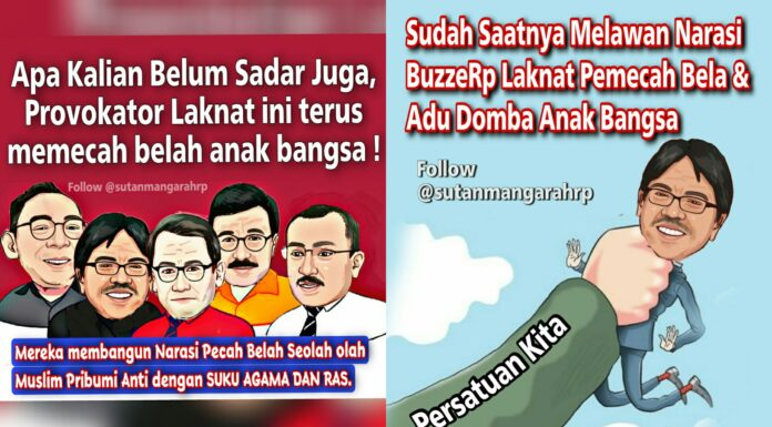 Sutan Mangara Sindir Komplotan Ade Armando cs: Provokator Laknat Terus Memecah Belah Bangsa!