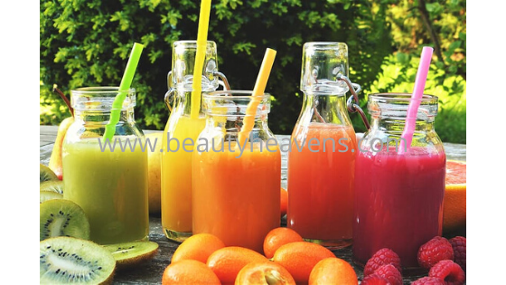 Reduce your belly fat with the help of juice in summer.