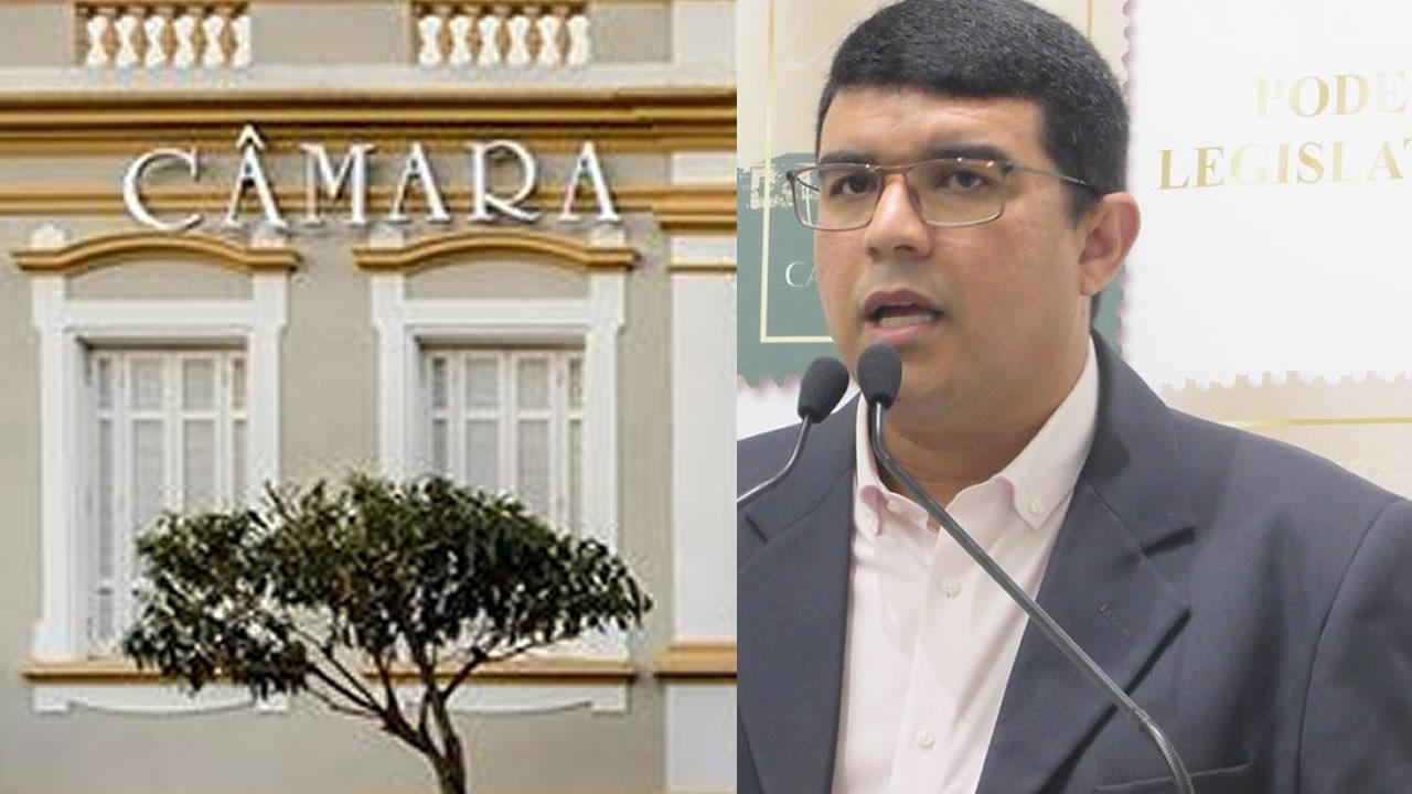 Câmara aceita denúncia contra o vereador licenciado Dione Laurindo e instaura comissão