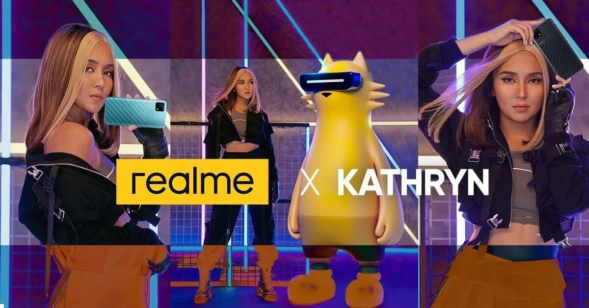 "Kathryn Bernardo Embodies realme's ""Dare to Leap"" Mentality as Brand's Celebrity Endorser"