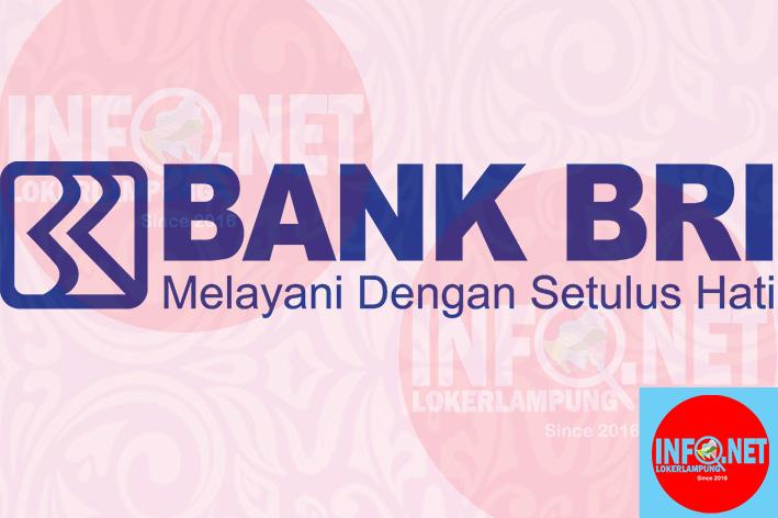 Lowongan Kerja Lampung Frontliner Bank Bri Loker Lampung Terbaru 2021 Infolokerlampung Net
