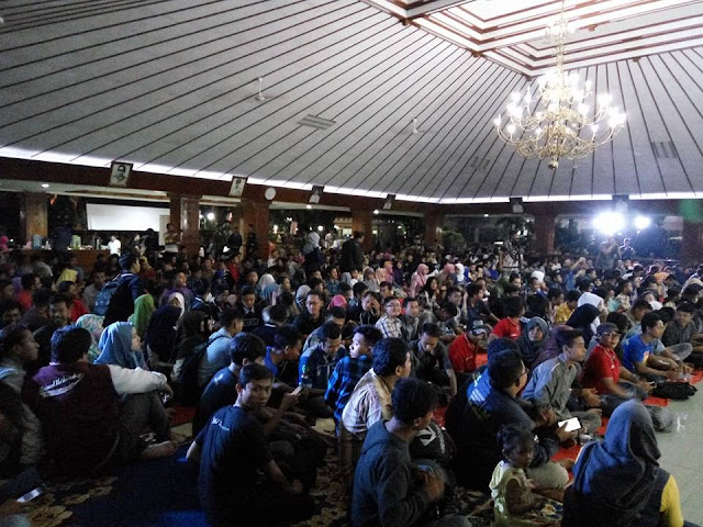 Kemeriahan Acara Njungok Bareng Netizen Bojonegoro