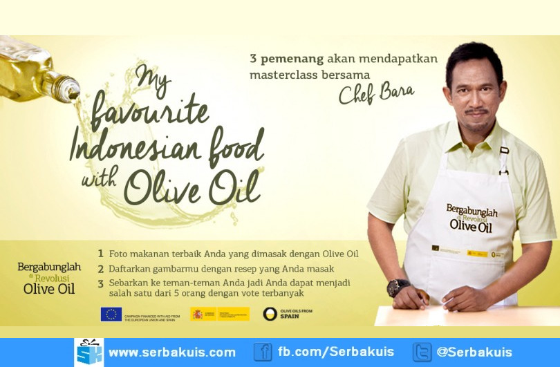 My Favorite Indonesian Food with Olive Oil