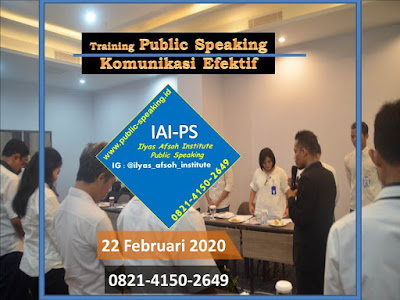 Motivator Public Speaking Indonesia IAI Semarang Jawa Tengah