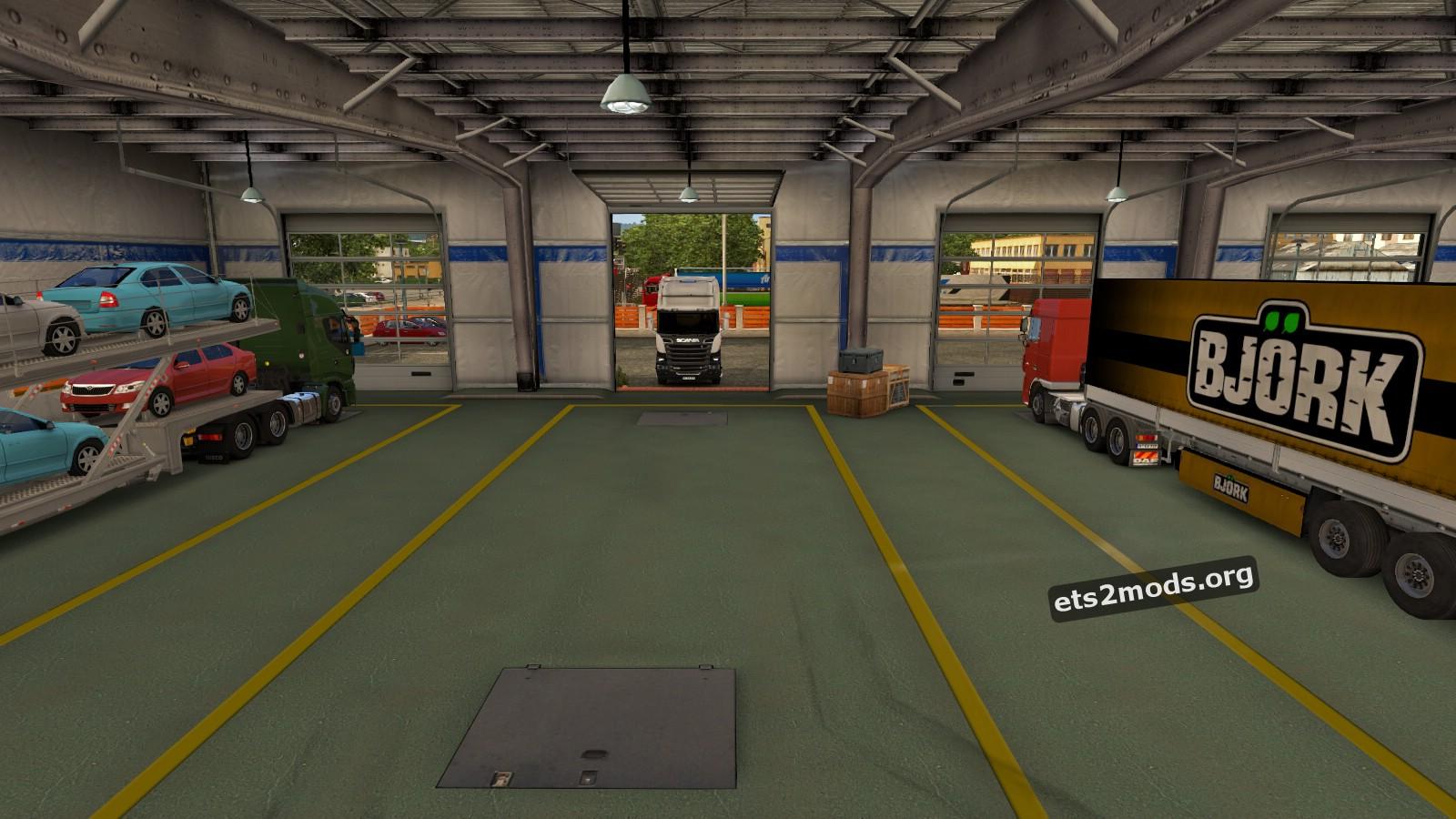 ETS2 Custom Garage