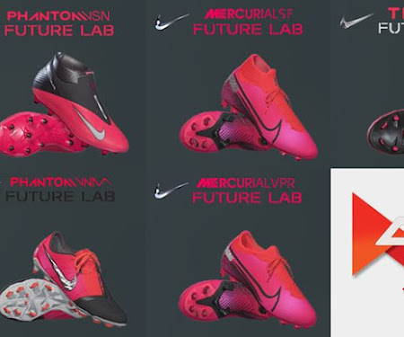 Nike 2020 Future Lab Boots Pack For PES 2017 - PES 2020