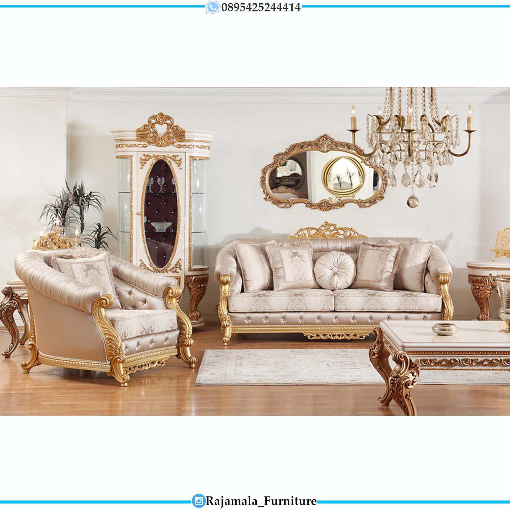 Sofa Tamu Mewah Jepara Luxury Classic Best Seller Furniture Jepara RM-0139