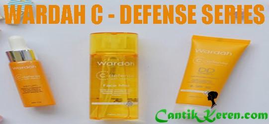 Harga Produk Wardah C Defense Series