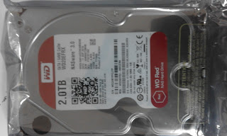 SATA 2 TB WD Hard Disk Drive or HDD Red NAS Server Storage