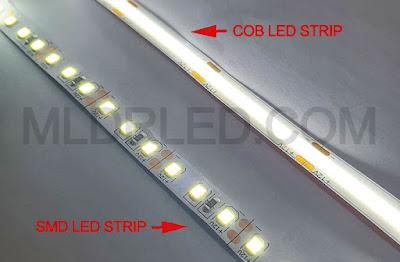 SMD LED STRIP VS. COB LED STRIP