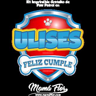 Logo de Paw Patrol: ULISES