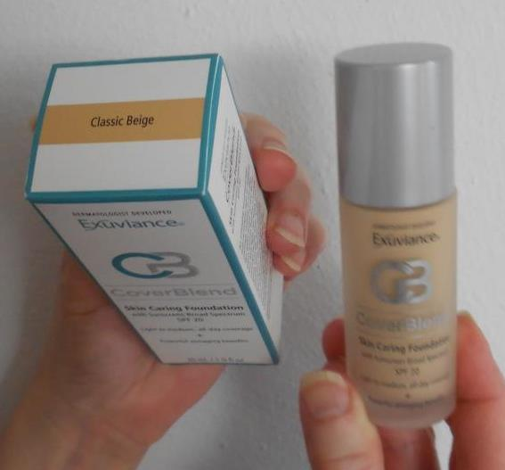 Exuviance CoverBlend Makeup Classic Beige foundation