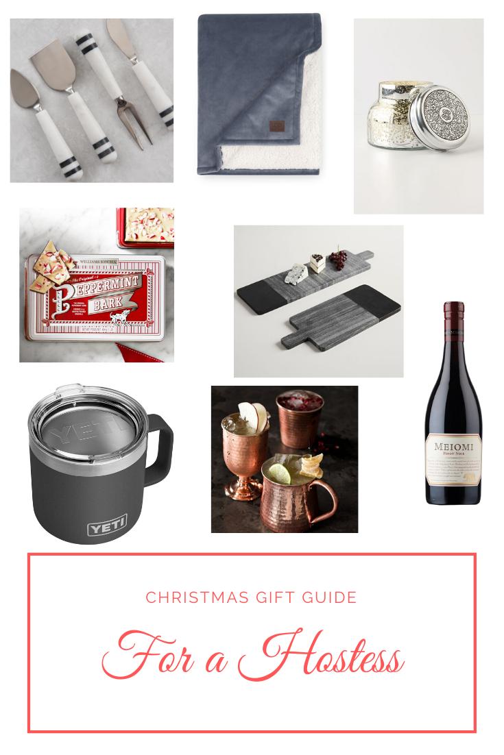 Christmas Gift Guide For a Hostess