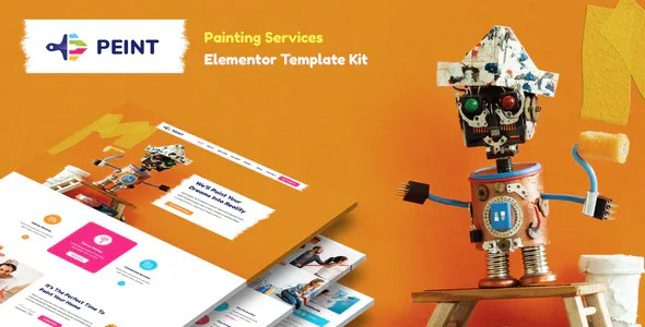 Best Painting Services Elementor Template Kit