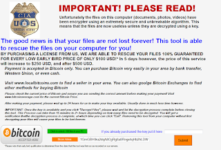 CIA Special Agent 767 Ransomware фейк-шифровальщик