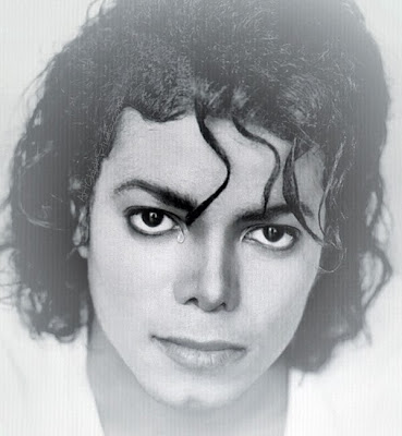 Michael Jackson Eyes Digital Art