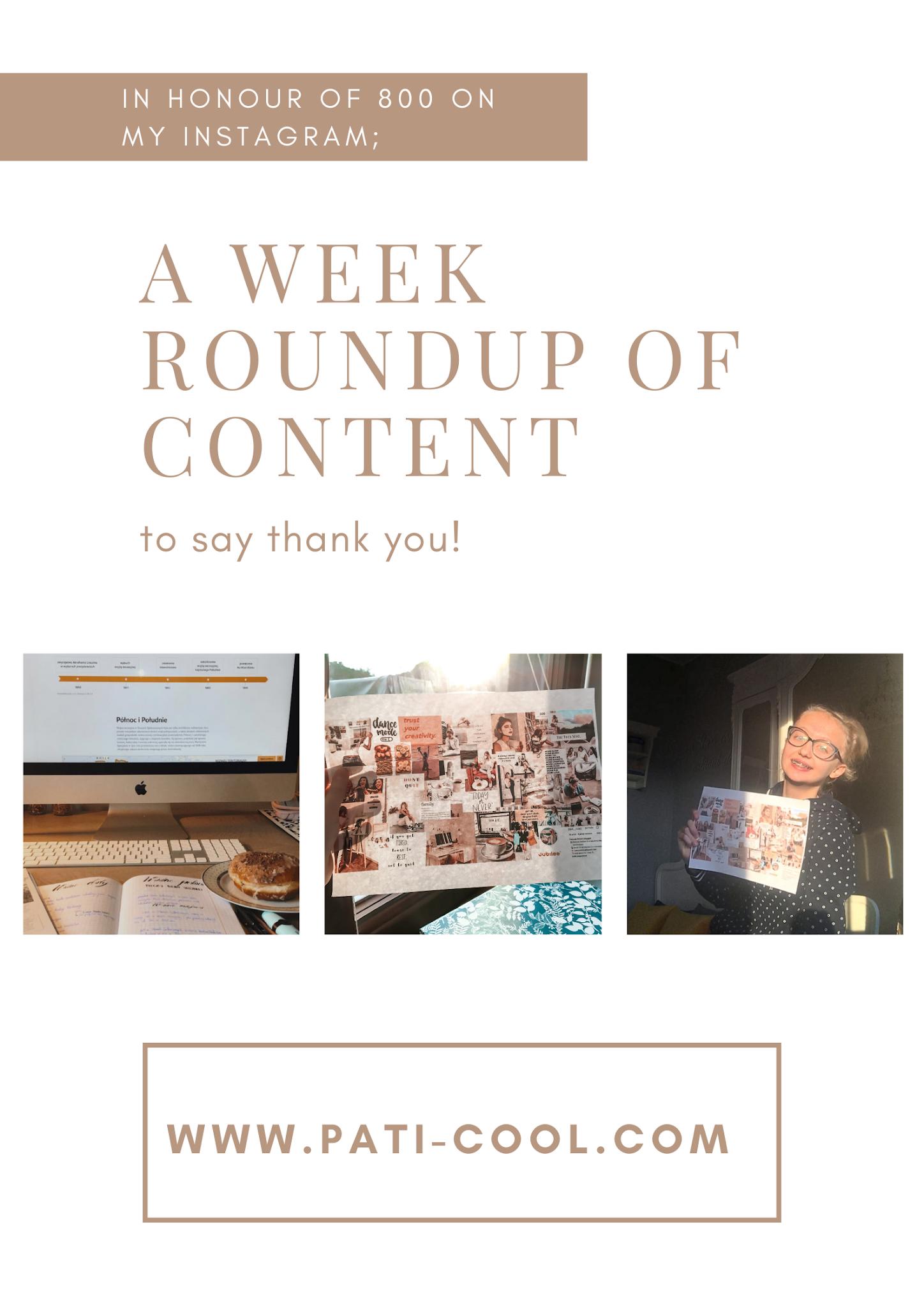 Week of content