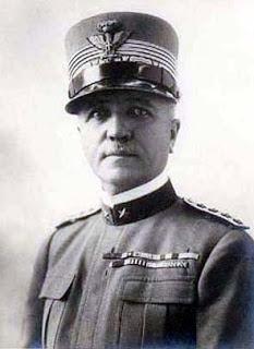 Marshal Pietro Badoglio, the former ally who helped depose Mussolini