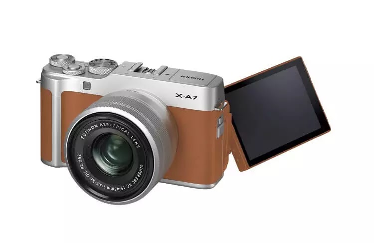 Fujifilm X-A7 Smart Mirrorless Camera Launched