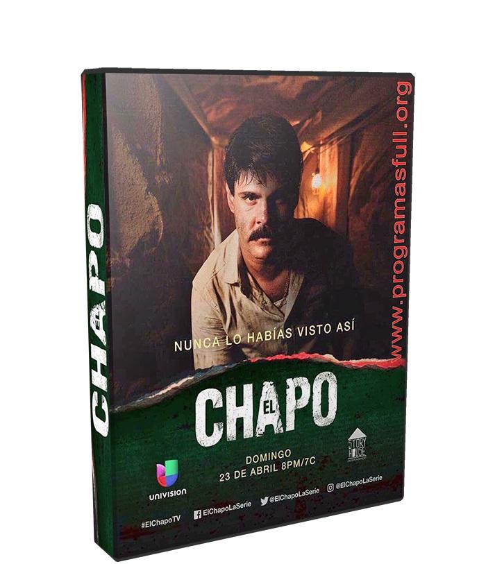 El Chapo Temporada 2 poster box cover