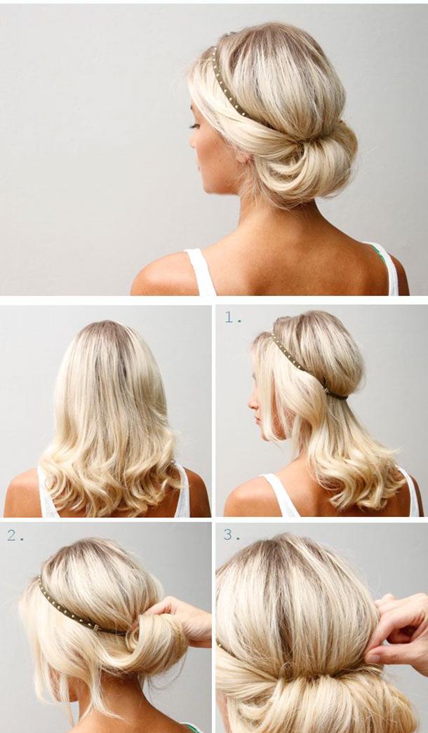 Diez peinados para bodas fáciles paso a paso Levante EMV - Peinados Para Bodas Paso A Paso