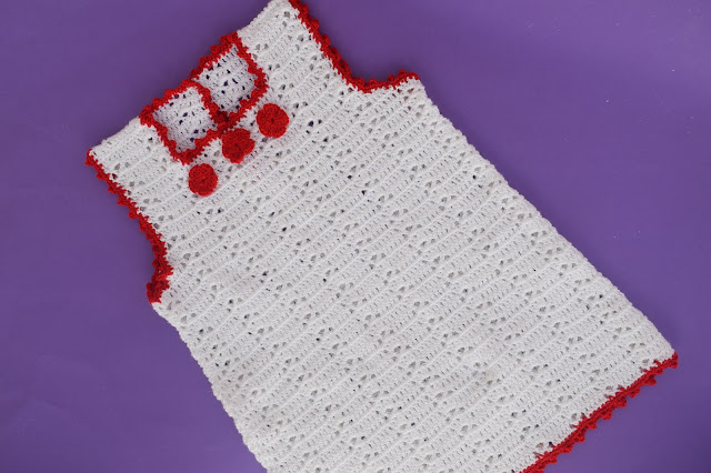 4 -Crochet Imagenes Sencillo vestido verano a crochet y ganchillo por Majovel Crochet