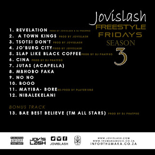 Jovislash - Freestyle Fridays Season 3 _ Tracklist