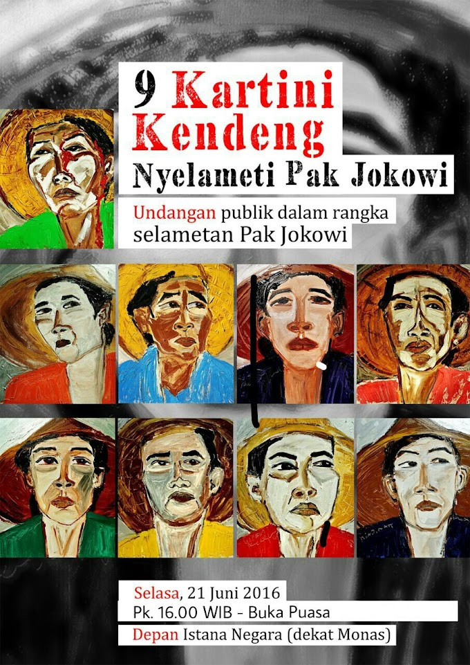 Surat Kartini Kendeng, untuk Presiden Jokowi