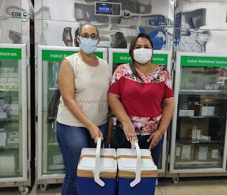 Mais de 2.500 doses de vacina chegam em Barreiras