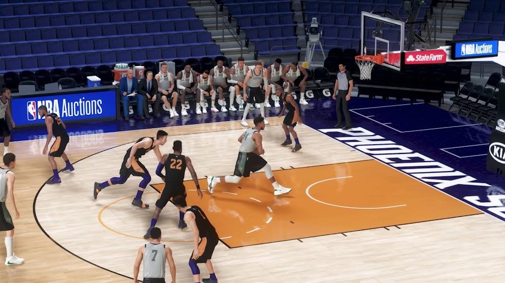 NBA 2K21 MAMBA UHD RESHADE by Arvin