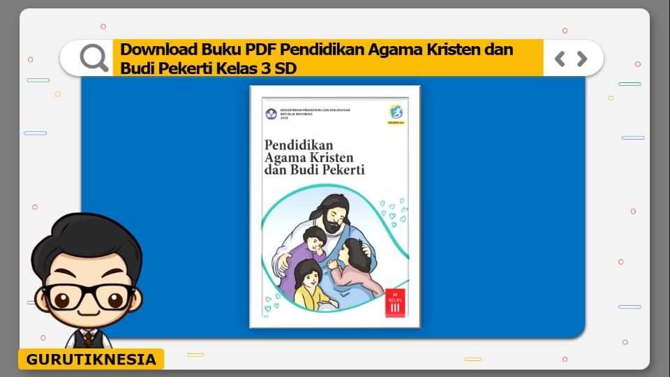 download buku pdf pendidikan agama kristen dan budi pekerti kelas 3 sd