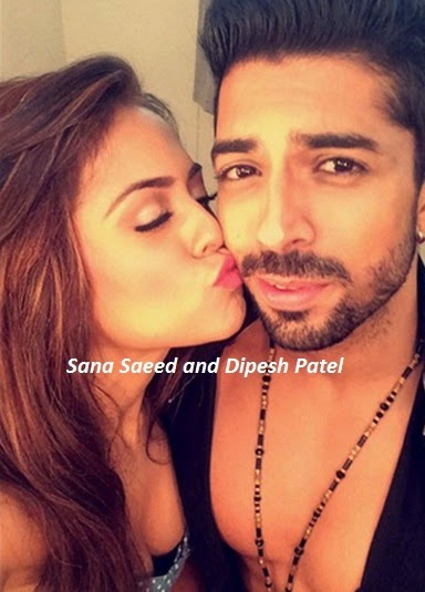 Nach Baliye 7 Contestants   Nach Baliye 2015 Contestants   Sana Saeed and Dipesh Patel