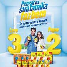 Promoção Leve 3 Pague 2  Nestlé