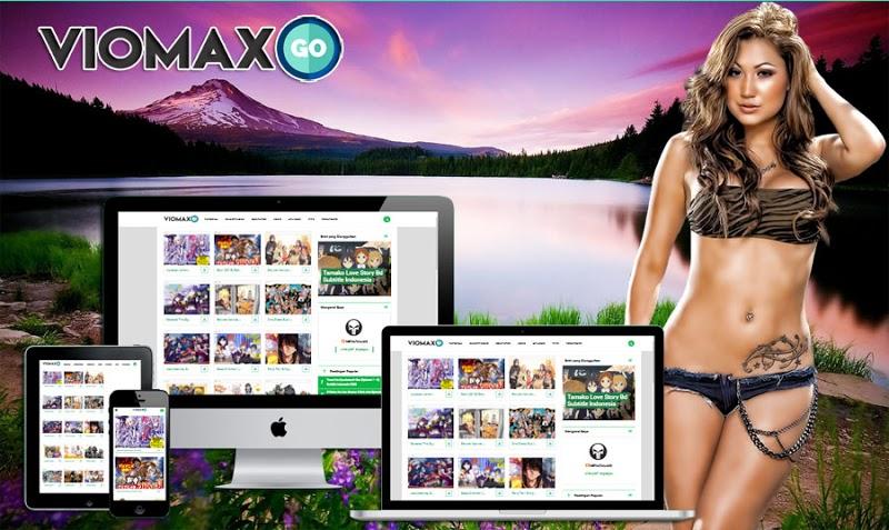 Viomax Go Grid Responsive Blogger Template