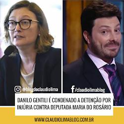 Danilo Gentili é condenado a detenção por injúria contra deputada Maria do Rosário