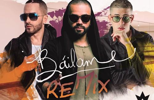 Nacho & Yandel & Bad Bonny - Bailame Remix
