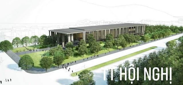 Trung tâm Hội nghị tỉnh sắp hoàn thành đưa vào sử dụng
