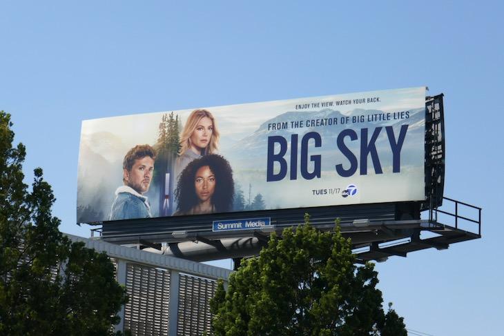 Big Sky TV series billboard