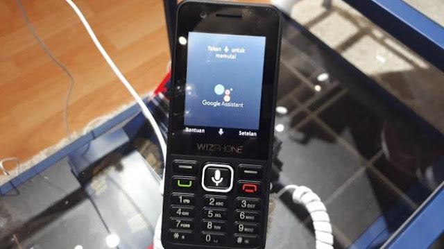 Wizphone Smartphone termurah dengan sistem KaiOS
