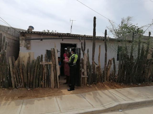 En Uribia y Manaure campaña para prevenir la violencia contra la mujer, la familia y genero