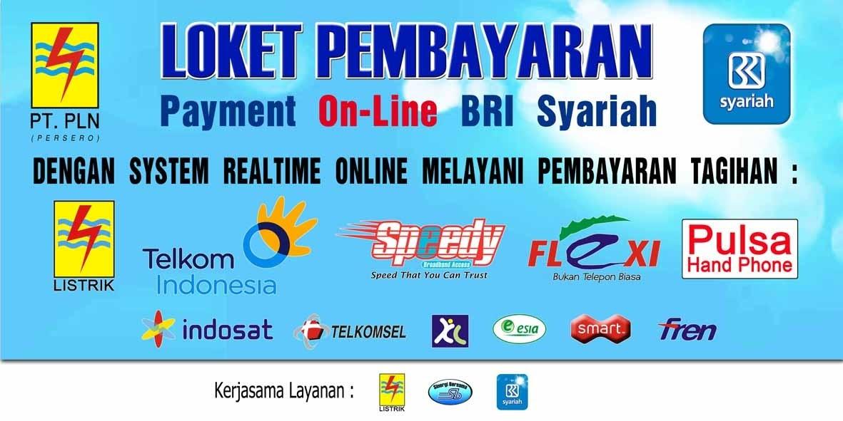 Contoh Baliho Loket Pembayaran - desain banner kekinian