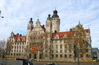 Neues Rathaus Leipzig am Burgplatz