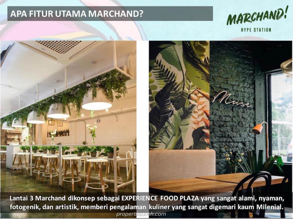Food Plaza Marchand Bintaro