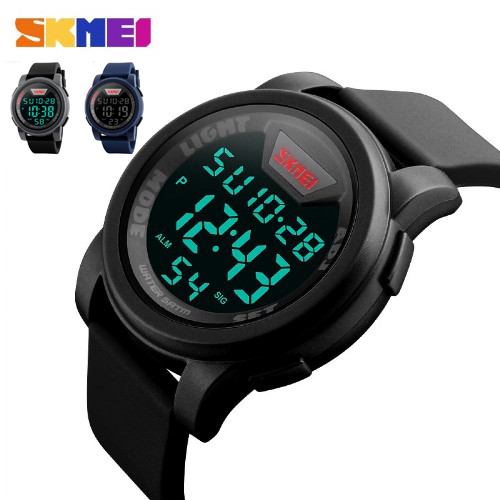 Jam tangan digital pria SKMEI 1218 original waterproof