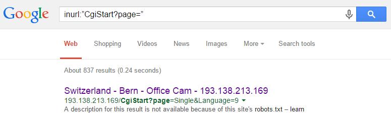 """inurl:""""CgiStart?page="""""""