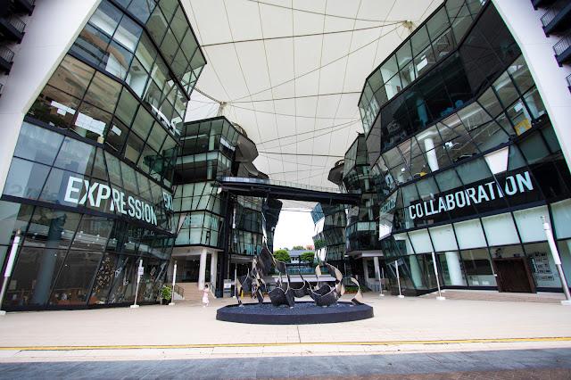Palazzo moderno-Singapore