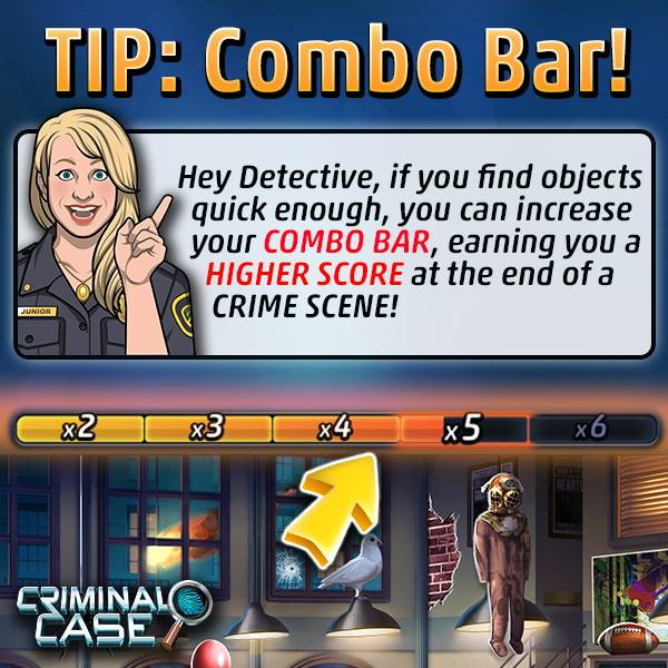 Criminal Case Officer Amy's Tips & Tricks