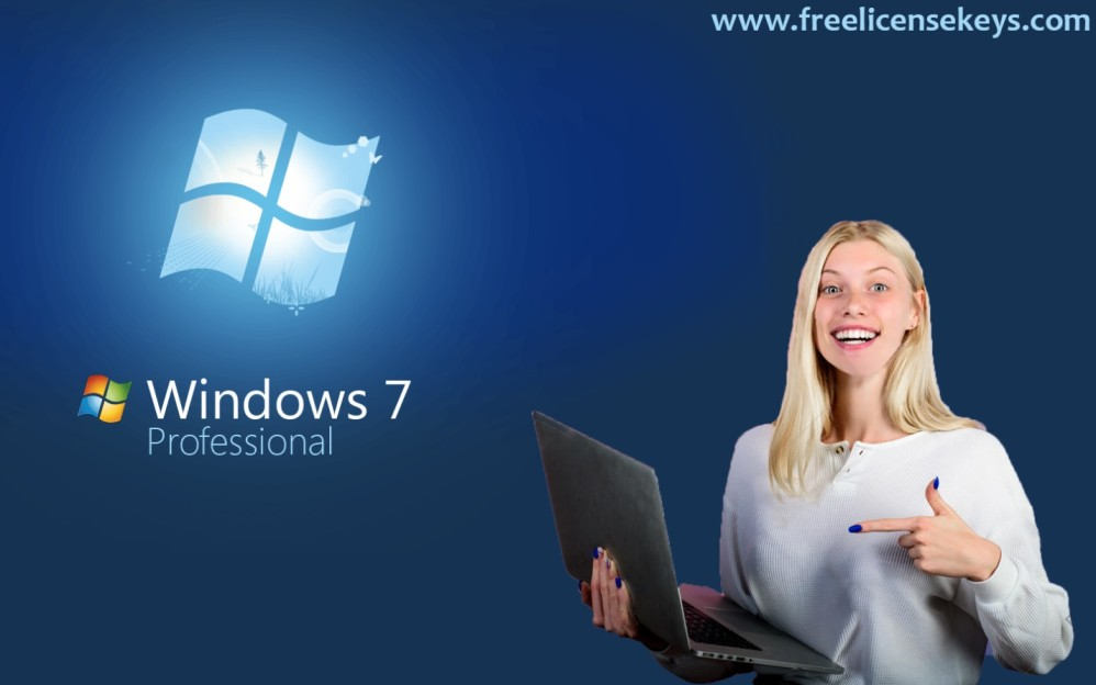 [Free*] Windows 7 Professional 64/32 bit product key (2020)